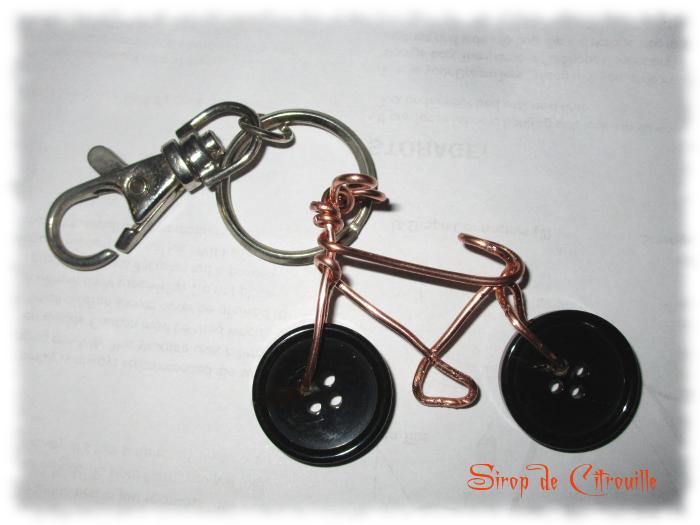 porte clé vélo