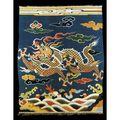 A rare imperial 'dragon' kesi textile. ming dynasty, wanli period