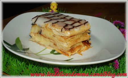 mille feuille paques