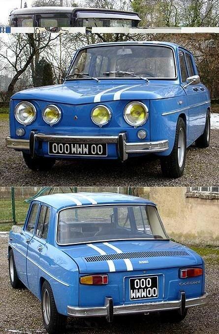 RENAULT - R8 Gordini - 1968