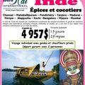 Épices et cocotiers en indes