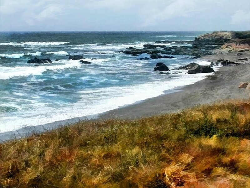elaine-plesser - storm-approaching-along-the-central-california-coast