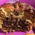 Gâteau marbré ultra moelleux