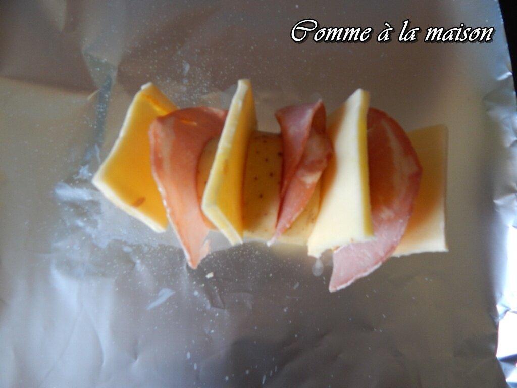 Pommes de terre au four fa on raclette comme la maison - Pomme de terre au four papier alu ...