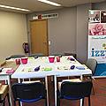 Agenda cours, tables de scrap et azza démo (boutique) mise à jour 5/3/18