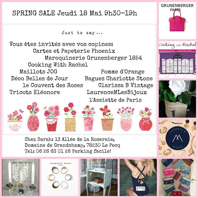 Sale 18th May added