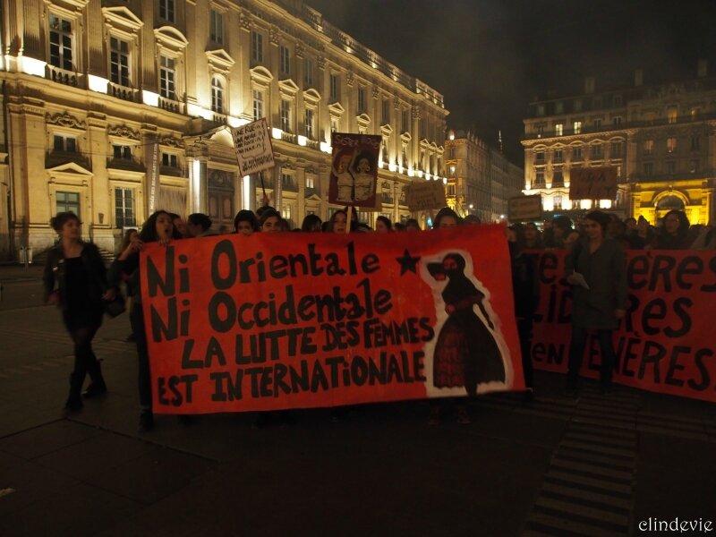 Marche de nuit non-mixte Lyon