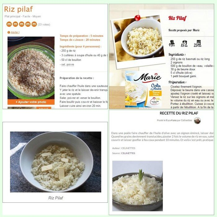 recette de riz pilaf de la cuisson pilaf aux plats pilaf episode i riz jasmin pka malis du. Black Bedroom Furniture Sets. Home Design Ideas