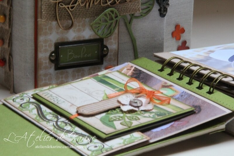 Mini Album et son coffret - Pure Lorelaïl Design 28