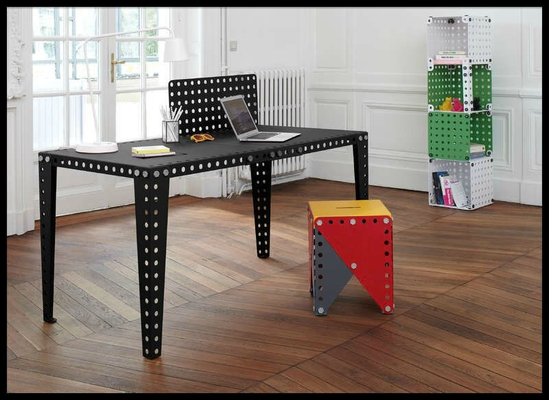 meccano home table salle manger chaise bureau. Black Bedroom Furniture Sets. Home Design Ideas