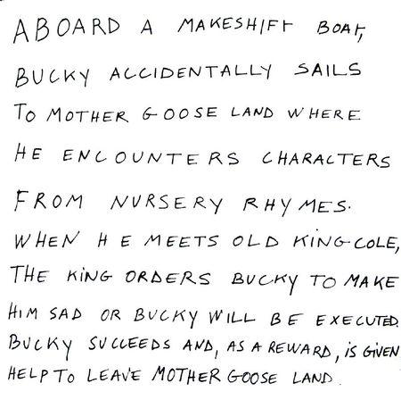 aboard a makeshift