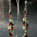 Boucles d'oreille Grappe de fruits