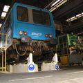 X 2250 sous la rotonde de Bordeaux (juillet 2010)