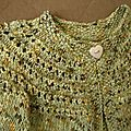 Encolure cardigan