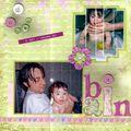 Coline l'heure du bain déc 2007