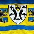 498-presentation du nouveau drapeau de cappelle la gde