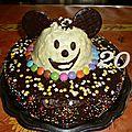 Gateau anniversaire 20 ans disneyland ... concours cuisineaz