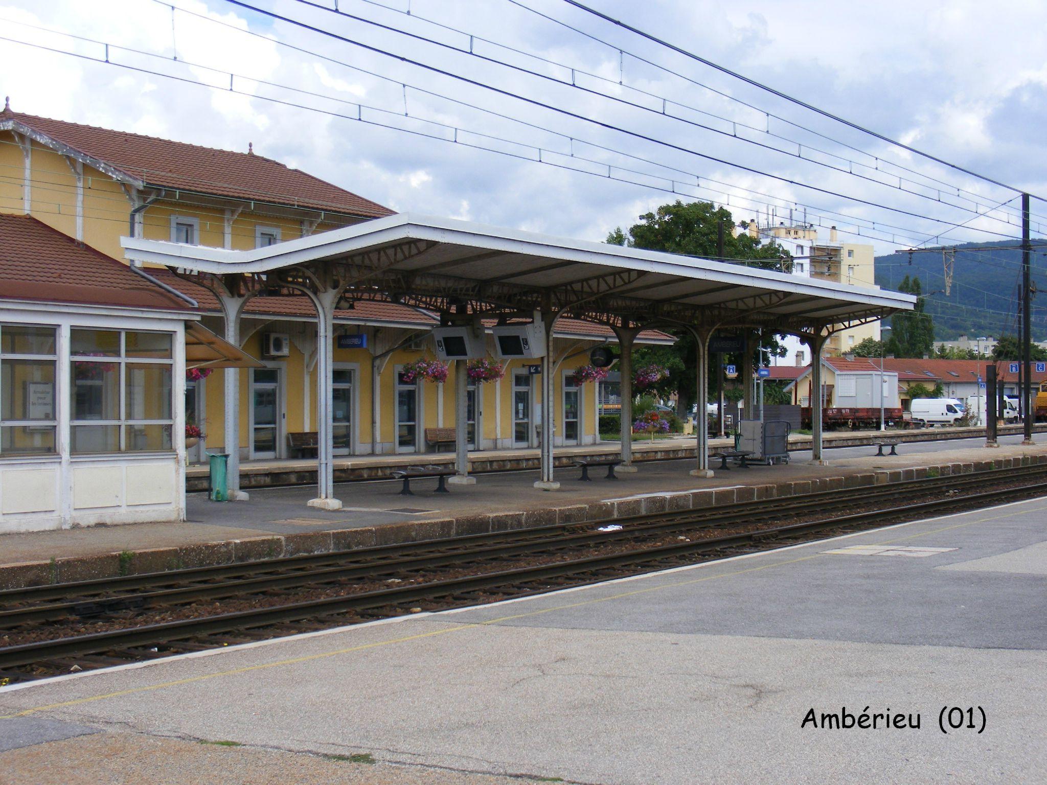 L 39 abri de quai d 39 amb rieu 01 les gares de france et for Exterieur quai gare de l est