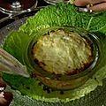 Aumoniere d'andouille au maroilles et choucroute hongroise
