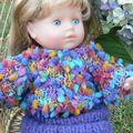 pull et jupe pour corolle 36 cm : Vanille, Lou, Ambre, Blandine