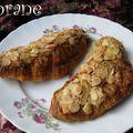 Croissants à la rhubarbe