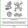 Lecture coloriage