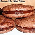 Macarons tout chocolat