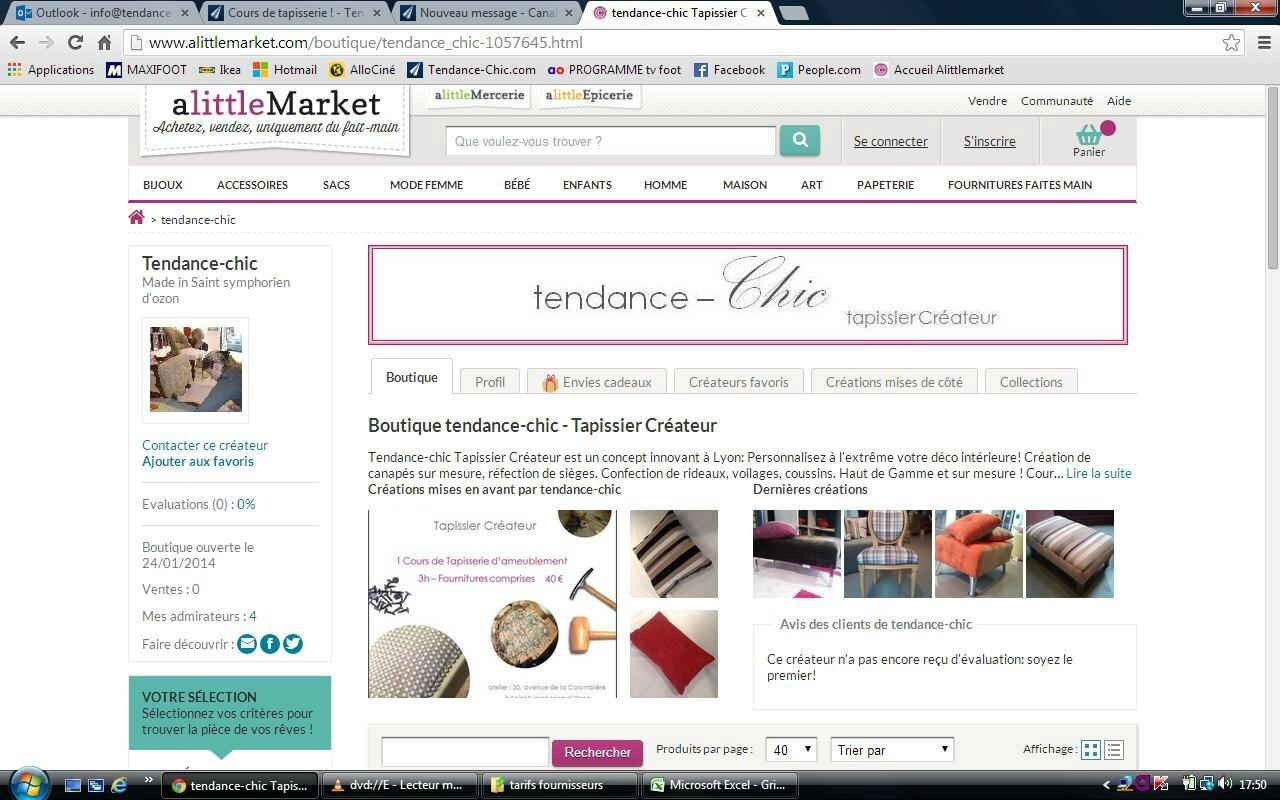 nouvelle boutique en ligne sur a little market tendance chic tapissier cr ateur. Black Bedroom Furniture Sets. Home Design Ideas