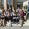 Vingt jeunes étrangers prêts pour une année scolaire à bourg