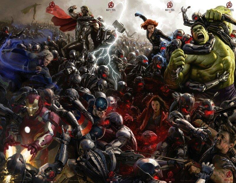 Avengers 2 (affiche géante Comic Con)
