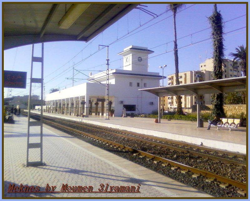 Gare de Meknes Ville 2