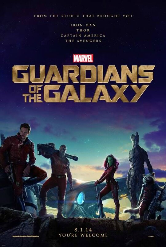 Gardiens de la galaxie (affiche)