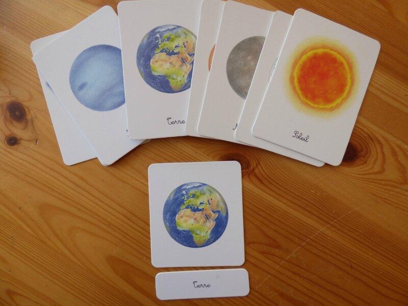Coffret Montessori astronomie (2)