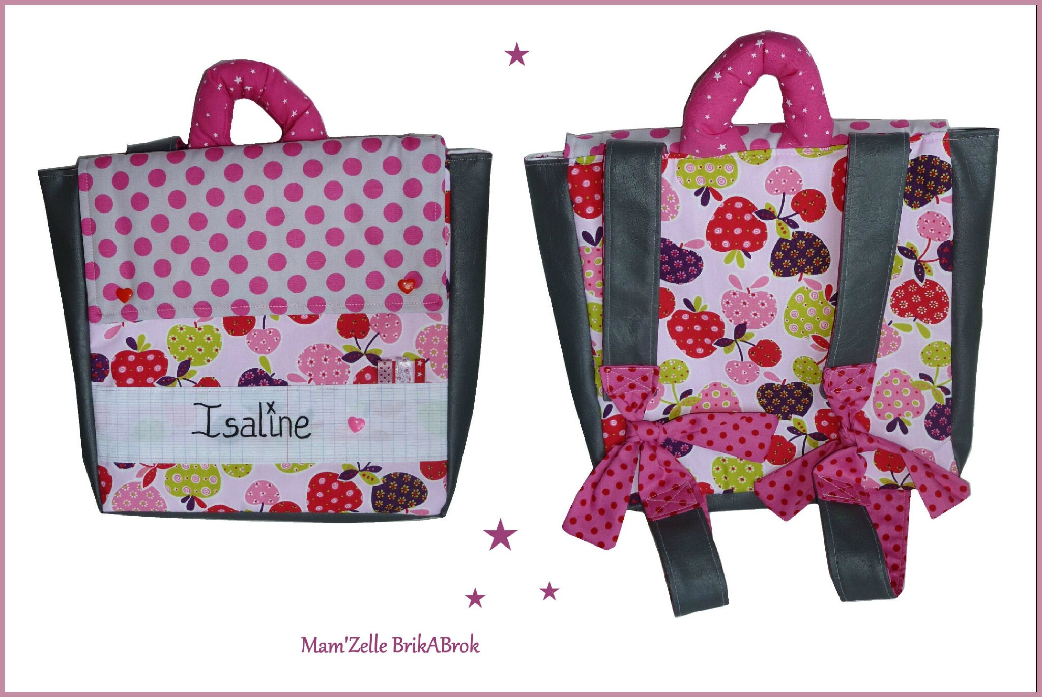 cute school bags sac ecole fille maternelle. Black Bedroom Furniture Sets. Home Design Ideas