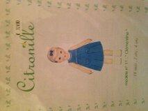 Citronille robe Clementine de 18 mois à 4 ans