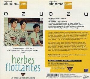 CanalBlog Cinéma Ozu K709 Herbes Flottantes