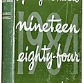 Nineteen eighty-four, de george orwell