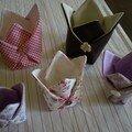vide poches façon origami