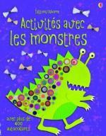 Activités avec les monstres couv