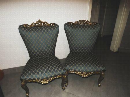 paire fauteuils régence