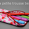 Diy - tuto de la trousse berlingot