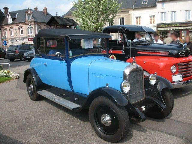 citro n b14 cabriolet 1927 1928 autos crois es. Black Bedroom Furniture Sets. Home Design Ideas