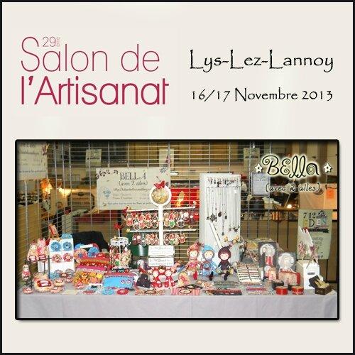 Retour sur le salon de l 39 artisanat lys lez lannoy 16 et for Salon artisanat a ballancourt sur essonne