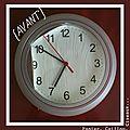 Horloge Avant