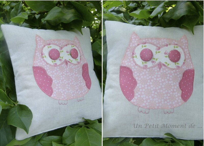 Coussin hibou 2