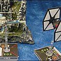 X-wing miniatures - revue du tie/fs