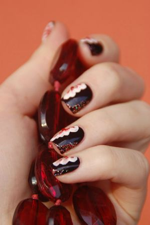 Nail art one stroke 3
