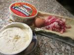 tarte salée au mascarpone, lardons et Livarot 002
