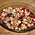 Salade de fruits rôtis