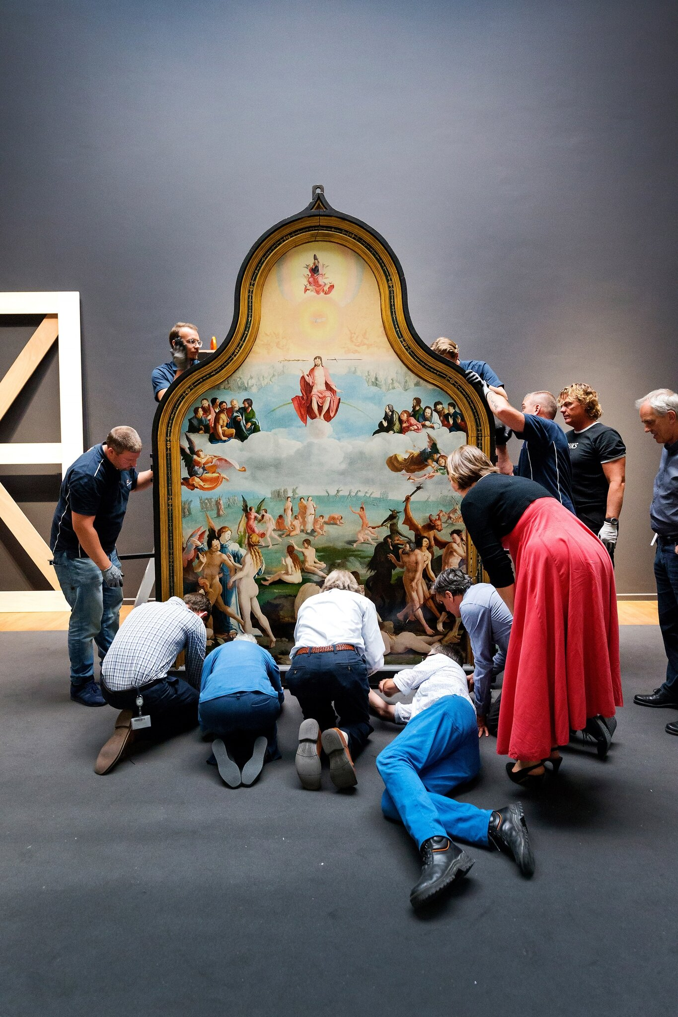 "Rijksmuseum hosts Lucas van Leyden's masterpiece ""The Last Judgement """